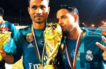 ওমানে বাংলাদেশিদের অংশগ্রহণে ফুটবল টুর্নামেন্ট