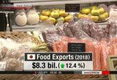 জাপানের খাদ্য রপ্তানি ২০১৮ সালে রেকর্ড সর্বোচ্চ