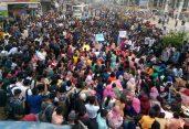 নর্দ্দায় বাসচাপায় বিশ্ববিদ্যালয় শিক্ষার্থী নিহত, সড়ক অবরোধ