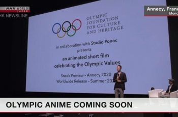 টোকিও অলিম্পিক উপলক্ষ্যে একটি স্বল্প দৈর্ঘ্যের অ্যানিমেশন চলচ্চিত্র নির্মাণ