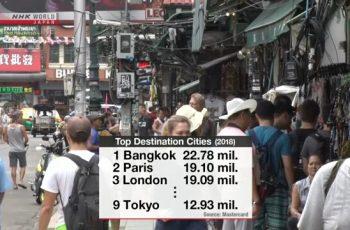 ২০১৮ সালে সর্বোচ্চ পর্যটক অবস্থান করা শহরের তালিকার শীর্ষে ব্যাংকক