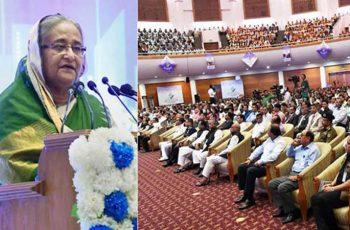 বাংলাদেশ এখন দুর্যোগ ব্যবস্থাপনারও রোল মডেল : প্রধানমন্ত্রী