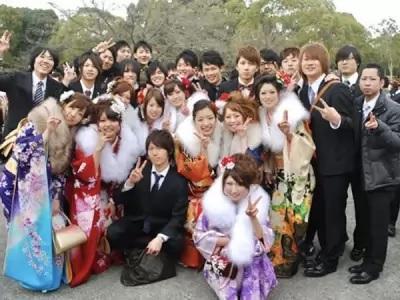 জাপানের প্রাপ্তবয়স্ক হওয়ার উৎসব 'সেইজিন নো হি'