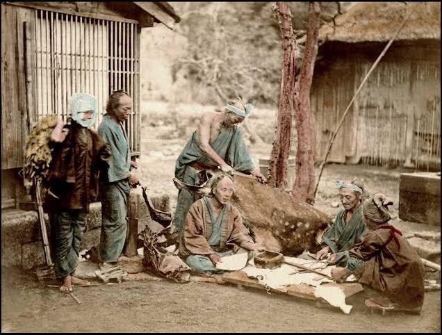 বুরাকুমিন: জাপানের অজানা গল্প