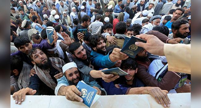 পাকিস্তানি ভিসার আবেদন করতে গিয়ে পদদলিত হয়ে ১৫ আফগান নাগরিকের মৃত্যু