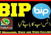 আমেরিকান imo,WhatsApp ছাড়ুন! তুর্কি Bip App ব্যবহার করুন!