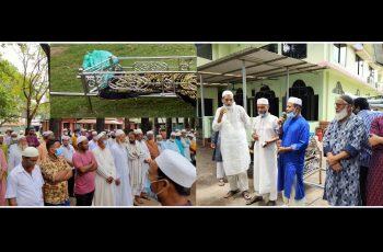 জাপান প্রবাসী সানাউল হকের পিতা মোহাম্মদ আব্দুল খালেকের জানাযা অনুষ্ঠিত
